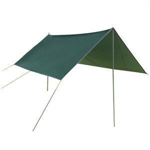 ฟลายชีท ทาร์ป คลุมเต้นท์ กันฝน กันแดด ผ้าใบ มีหูร้อยเชือกทุก 1 เมตร