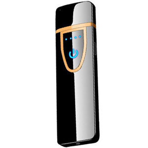 ไฟแช็กไฟฟ้า ตรวจจับการสัมผัส วัสดุโลหะ สะดวกในการชาร์จด้วย USB