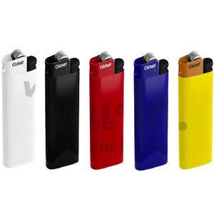 Color lighter ไฟแช็กยี่ห้อ คริกเก็ต (Cricket)