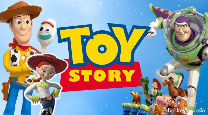 รีวิว ทอย สตอรี่ (Toy Story) มีกี่ภาค พร้อมเรื่องย่อ