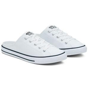 Converse รองเท้าผ้าใบไร้ส้นสำหรับผู้หญิง Chuck Taylor All Star Dainty Mule