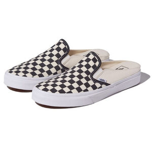 VANS รองเท้าผ้าใบ The Checkerboard Classic Slip-On Mule