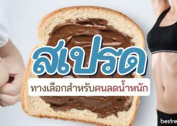 แนะนำ สเปรดทาขนมปัง เหมาะสำหรับคนลดน้ำหนัก